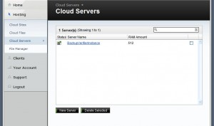 cloud-server-screen